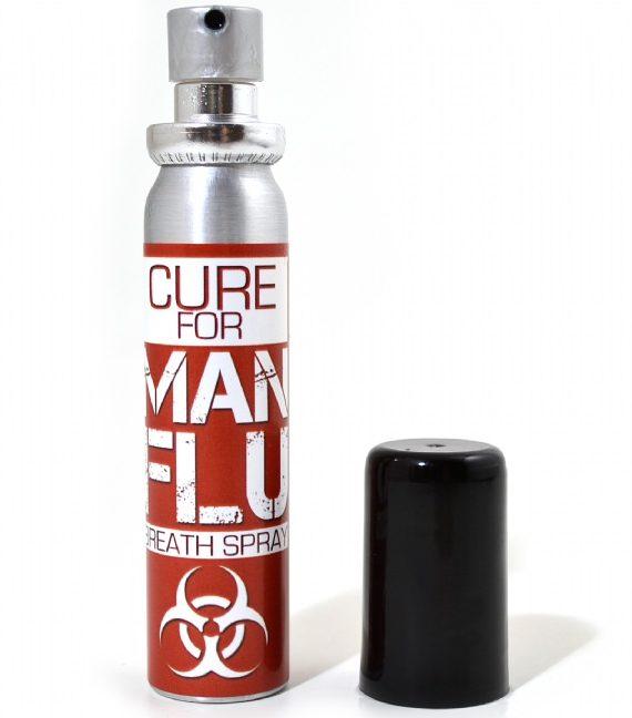 Spray de Gura Anti-Raceala Barbatului