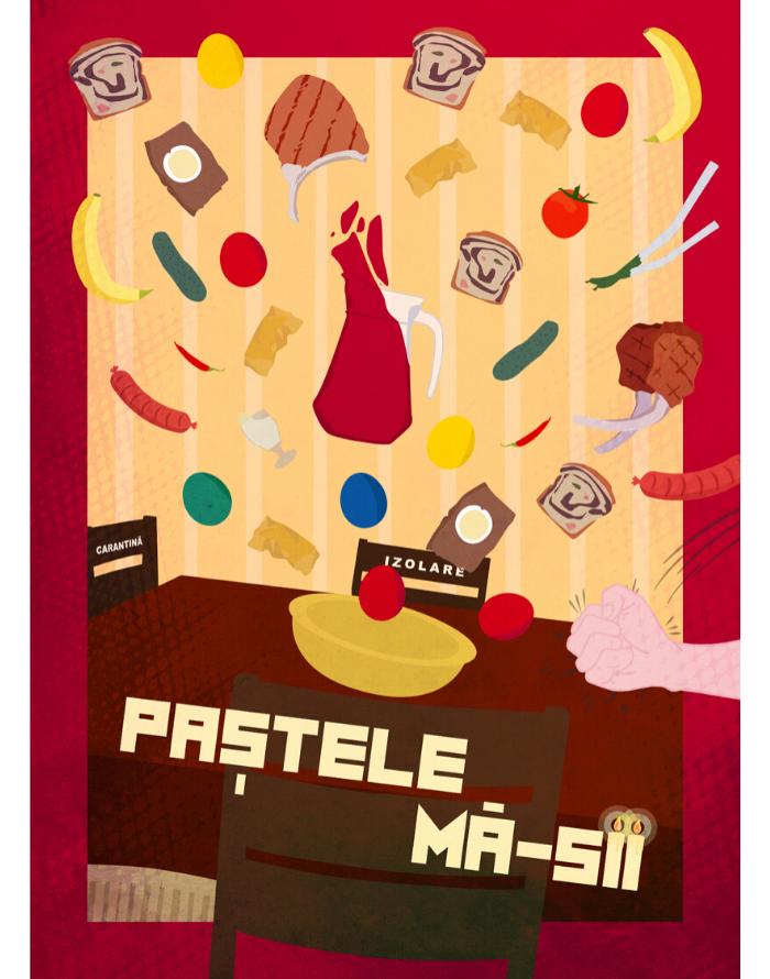 Felicitare de Pastele Ma-sii